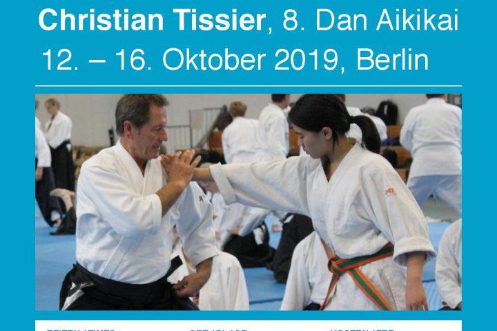 Christian Tissier, 8. Dan Aikikai